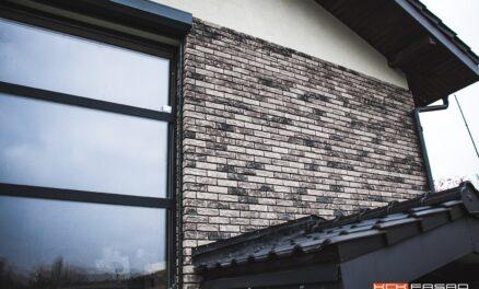 Vandersanden Lithium / облицовка дома кирпичной плиткой
