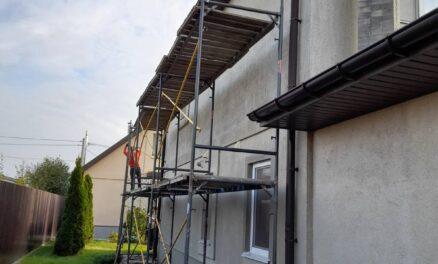 покраска / реконструкция фасада дома